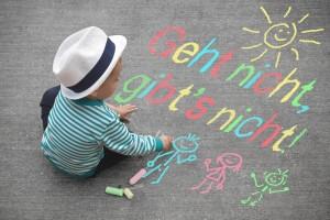 Kinderzeichnung - Geht nicht ,gibts nicht!
